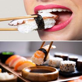 السمك يلمس اللسان أولا.. كيف تتناول السوشي مثل ياباني محترف؟