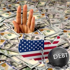 أكثر دولة مديونة بالعالم.. أمريكا تتخلّف عن سداد 28.5 تريليون دولار!