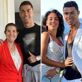 والدة كريستيانو رونالدو ترفض زواجه من جورجينا رودريغيز