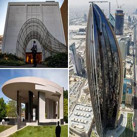 بالصور: منشآت هندسية معمارية جديدة تظهر في عام 2021