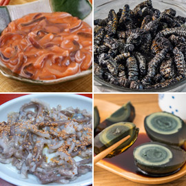بعضها مقزز.. إليكم أغرب 15 نوعا من الأطعمة حول العالم