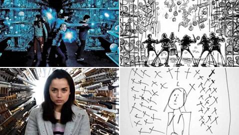 رسومات لأفلام شهيرة تكشف كيف تبدو قبل إنتاجها وتصويرها في الواقع