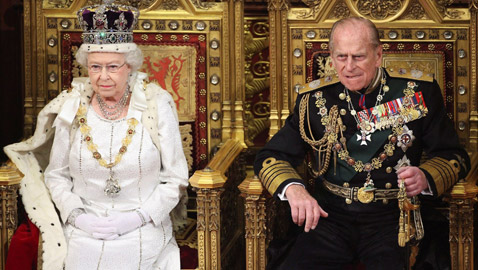 كلمة تقدير من الملكة إليزابيث للأمير فيليب..