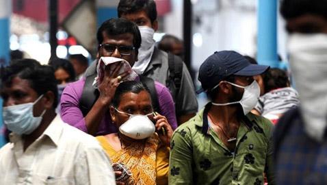 للمرة الـ6 خلال أسبوع الهند تسجل ارتفاعا غير مسبوق في إصابات كورونا