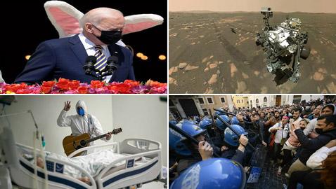 أبرز صور الأسبوع إليكم أهم الأحداث المصورة في مختلف بقاع العالم