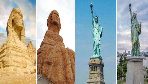 أبو الهول الصيني.. وأشهر معالم سياحية مقلدة حول العالم