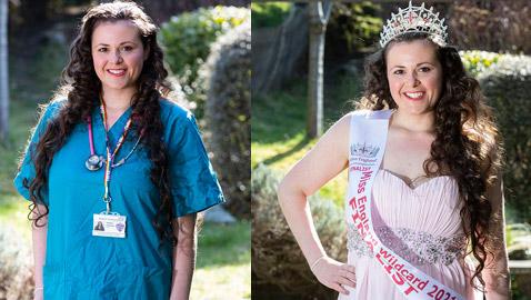 حصدت رقماً قياسياً من الأصوات.. طبيبة مبتدئة تخطف الأنظار في مسابقة ملكة جمال إنجلترا (صور)
