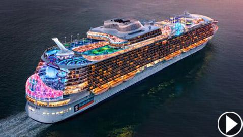 6988 ضيفا في 18 طابقا.. إطلاق أكبر سفينة سياحية في العالم العام المقبل