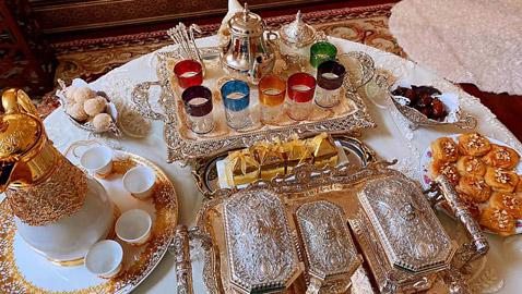 تحضيرات العيد: 6 قطع ذهبية لمائدة عيد الفطر