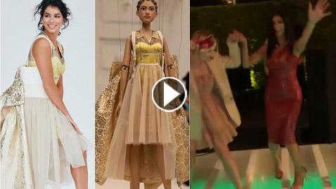 فيديو: ملكة جمال امريكا ريما فقيه ترقص  الدبكة اعتزازا بأصولها العربية