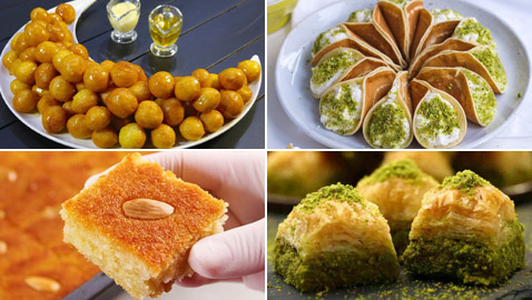 إليكم عدد السعرات الحرارية في حلويات رمضان والعيد