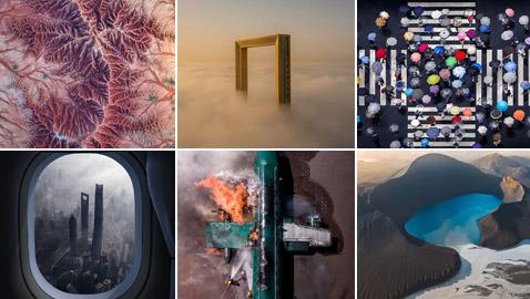 تعرفوا على الصور الرائعة التي فازت بمسابقة التصوير الجوي لعام 2020