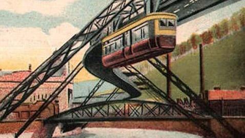 عام 1901.. شيّدت ألمانيا أول قطار طائر معلّق في العالم