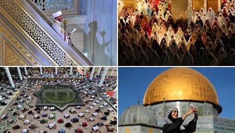 بالصور: احتفالات عيد الفطر في دول مختلفة حول العالم