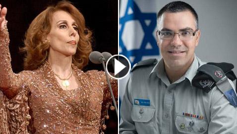 فيديو: أفيخاي أدرعي يسرق أغنية فيروز ويستبدل (بحبك يا لبنان) بـ(إسرائيل)