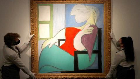 لوحة للرسام بيكاسو تباع بأكثر من 100 مليون دولار في مزاد بنيويورك