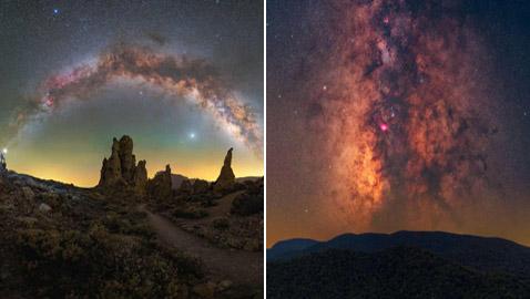 إليكم أجمل صور مجرة درب التبانة المذهلة لعام 2021