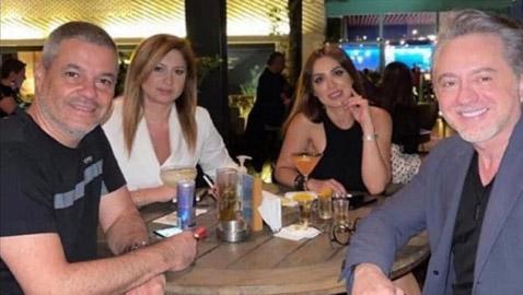 هل هذه صورة الفنان اللبناني مروان خوري مع خطيبته؟