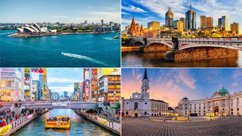 جائحة كورونا تغير ترتيب أفضل المدن ملاءمة للعيش في العالم