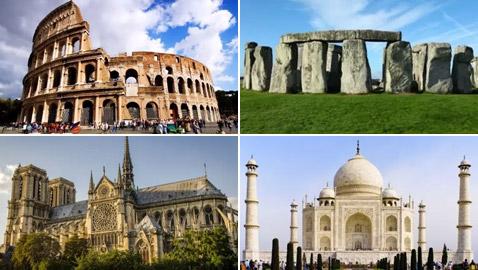 بالصور: تعرفوا إلى 10 من أفضل وأشهر آثار العالم المميزة