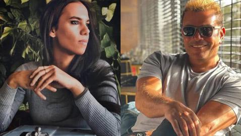 بعد دينا الشربيني، قصة حب جديدة بين عمرو دياب ومصورة شابة اسمها دينا ضياء