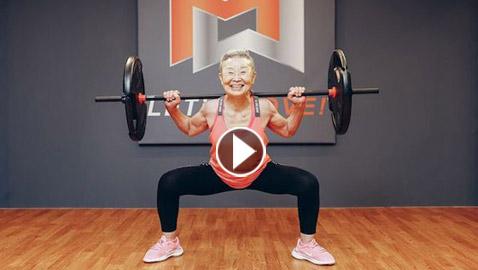 في التسعين من عمرها.. تعرف على أكبر مدربة لياقة يابانية