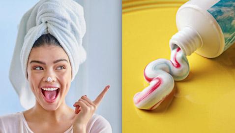 10 طرق لاستخدام معجون الأسنان لتعزيز جمال المرأة