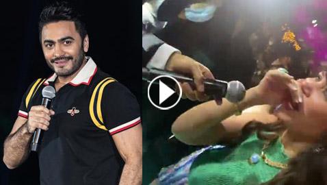فيديو: تامر حسني يطلب