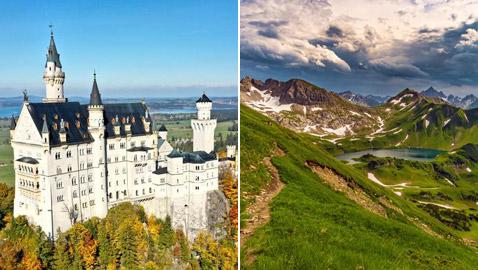 طريق جبال الألب في ألمانيا.. متعة مشاهدة المناظر الخلابة والمدهشة