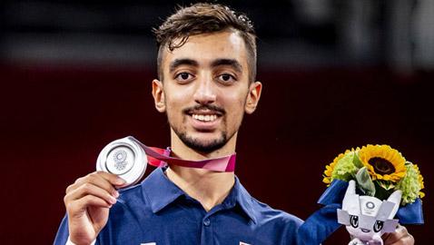 التونسي الجندوبي يحصد أول ميدالية عربية بالتايكوندو في أولمبياد طوكيو 2020
