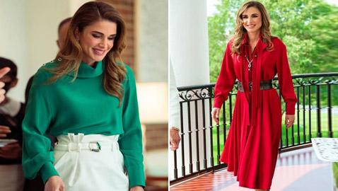 صور: الملكة رانيا بـ4 إطلالات عصرية أنيقة خطفت الأنظار خلال زيارتها إلى واشنطن