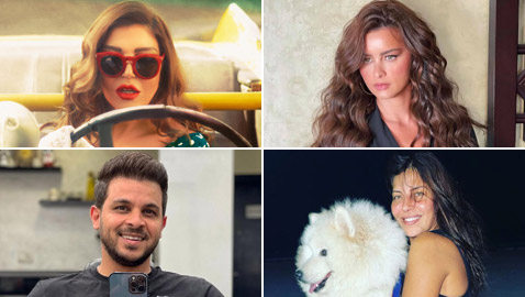 10 صور لنجوم الفن: نور اللبنانية أنيقة، أماني كمال أمام البحر وسميرة سعيد بالسيارة
