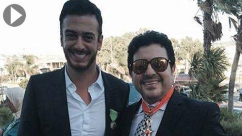 فيديو وصور: سعد لمجرد يعلق على رغبة هاني شاكر بعمل ديو يجمعهما: التعاون معك شرف لي!