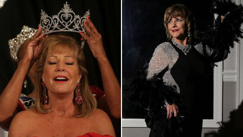 صور: جدة جميلة (63 عاما) تفوز بمسابقة ملكة جمال المسنات في أمريكا