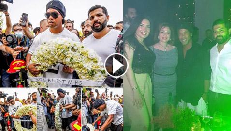 حملة غضب بعد سهرة رونالدينيو والنجوم في بيروت للتضامن مع ضحايا المرفأ