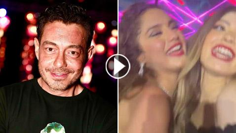 بالفيديو والصور: ليلى وملك تغنيان لوالدهما أحمد زاهر (كل البنات بتحبك)