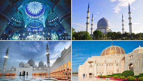 بالصور: تعرفوا إلى أجمل 10 مبان إسلامية مميزة حول العالم