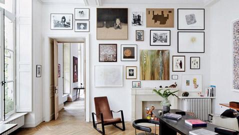 10 أفكار لديكور الجدران الحديثة