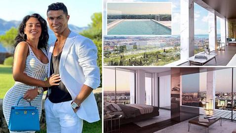 صور: منزل رونالدو الأغلى فيي  البرتغال: مع جيم، بركة سباحة ومنتجع صحي خاص!