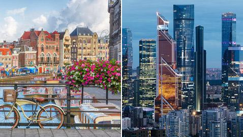 بينها موسكو واثنتان عربيتان.. إليكم قائمة أفضل المدن في العالم لعام 2021