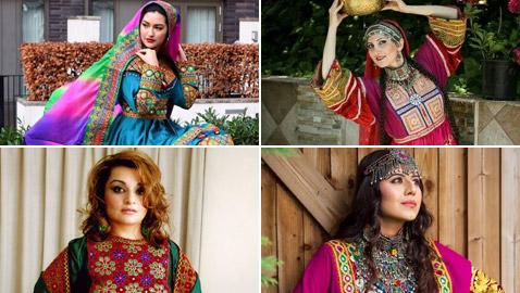 بالصور: ملابس ملونة وتقليدية رائعة.. الأفغانيات يتحدين نساء طالبان!