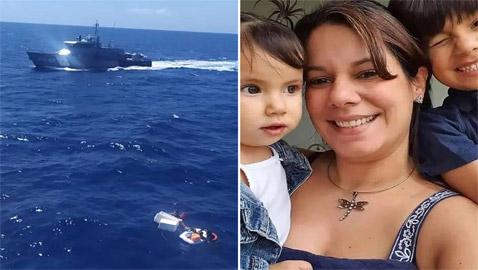 أُم تستمر بإرضاع طفليها حتى الرمق الأخير.. أنقذتهما بقارب غارق وماتت!