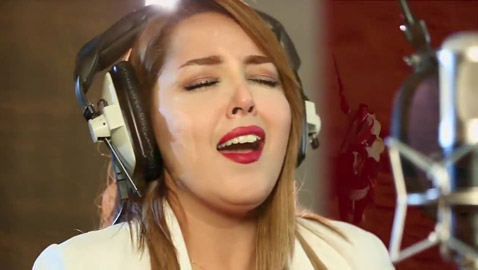 """الجزائرية ياسمين بلقاسم مغنية """"من أجلك عشنا يا وطني"""" تهاجر لتركيا"""
