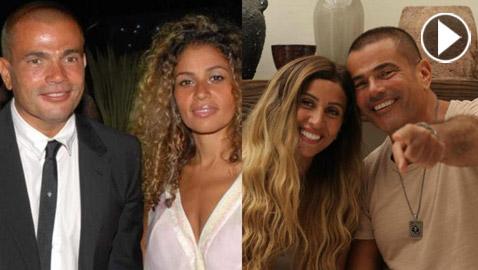 صور: شقيقة إلهام شاهين خطيبة الهضبة وحبه الأول.. كيف اصبحت الآن