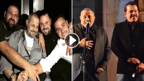 هل تعدى أبناء جورج وسوف بالضرب على الفنان الأردني منذر رياحنة؟