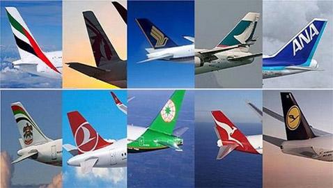 شركة عربية تتصدر.. تصنيف جديد لأفضل 10 شركات طيران في العالم