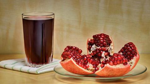 كوب من عصير الرمان يقلل من مستويات السكر في الدم خلال دقائق