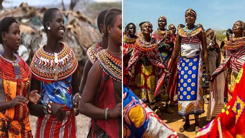 أسستها امرأة تعرضت للضرب.. قرية أوموجا الإفريقية مُحرمة على الرجال