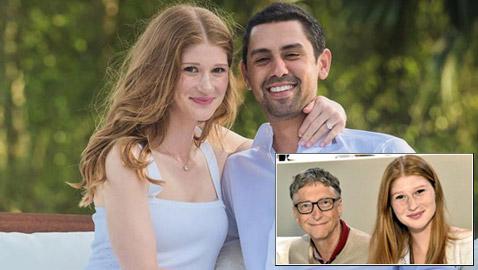 نايل نصار ابن مهاجر مصري يتزوج ابنة غيتس ثالث أغنى رجل بالعالم