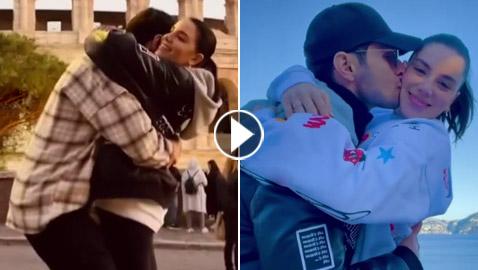 وصيفة ملكة جمال لبنان السابقة بفيديو رومانسي.. هكذا عبّرت عن حبها لحبيبها الممثل الفلسطيني!